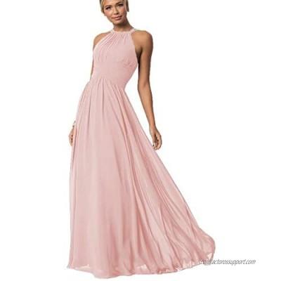 Dresspic Neck Wedding Bridesmaid Dress Waist A Line Prom Evening Gowns B035
