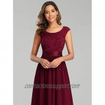 Ever-Pretty Women's Women's Ruched Empire Wasit Bridesmaid Dresses 0646