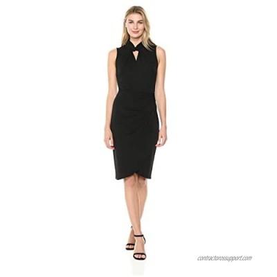 Brand - Lark & Ro Women's Sleeveless Twist Neck Dress