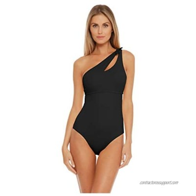 Becca by Rebecca Virtue Women's Sadie One Shoulder One Piece Swimsuit