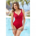 Miraclesuit Women's Swimwear Rock Solid Revele Molded Cup Underwire Bra Slimming One Piece Swimsuit