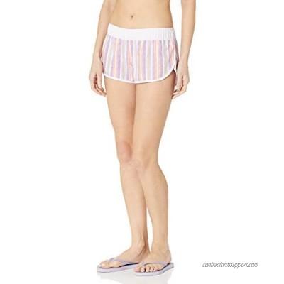 Hurley Women's Overdye Stripe 2.5 Inch Board Swim Short