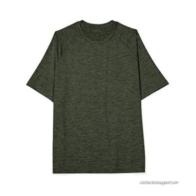 Essentials Men's Big-Tall Big & Tall Tech Stretch Short-sleeve T-shirt