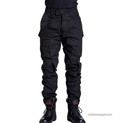 TRGPSG Men's Military Tactical Pants Casual Camo BDU Cargo Pants Work Trousers with 10 Pockets