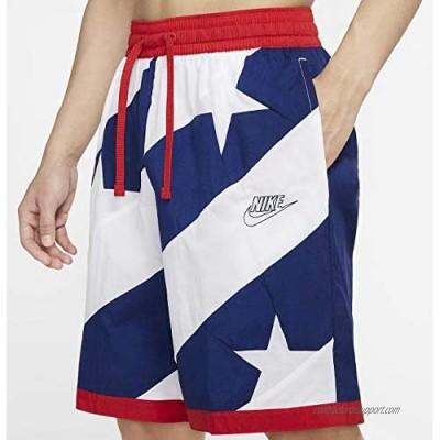Nike Dri-Fit Throwback Men's Basketball Athletic Shorts American Flag
