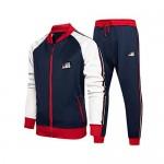 Litteking Men's Tracksuits 2 Piece Outfit Casual Long Sleeve Sweat Suit Set Full Zipper Sports Jogging Suits