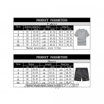Men's Fashion Athletic Short Set Outfits - Summer T-Shirt and Shorts Set sweatsuits Casual 2 Piece Running Jogging Tracksuit