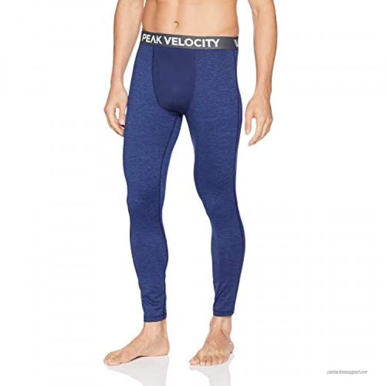 Brand - Peak Velocity Men's Thermal Cold-weather Athletic-Fit Tight