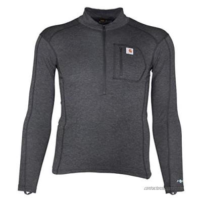 Carhartt Men's Force Tech Quarter-Zip Thermal Base Layer Long Sleeve Shirt