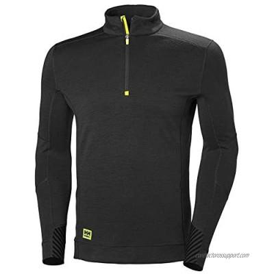 Helly-Hansen Workwear Men's HH LIFA Half Zip Long Sleeve Baselayer