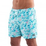 Third Wave Mens Swim Trunks - Quick Dry Swim Shorts for Men with a Slim Fit and 5 Inch Inseam for Beach and Swimming