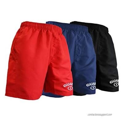 Adoretex Men's Guard Board Shorts Swim Trunks Mesh Liner