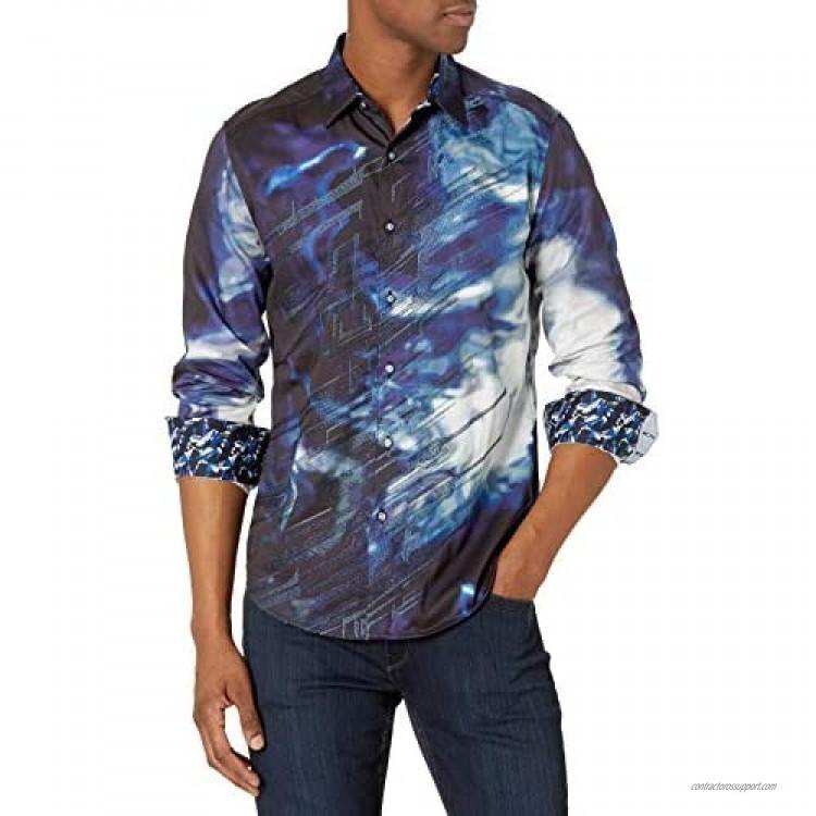 Robert Graham Men's Perfect Storm L/S Woven Shirt
