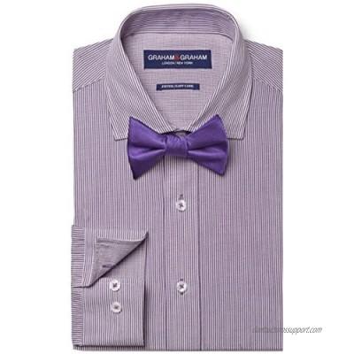 Graham & Graham Men's Dress Shirt & Tie Set