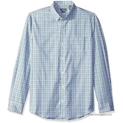 Van Heusen Men's Slim Fit Flex Long Sleeve Button Down Stretch Tattersal Shirt