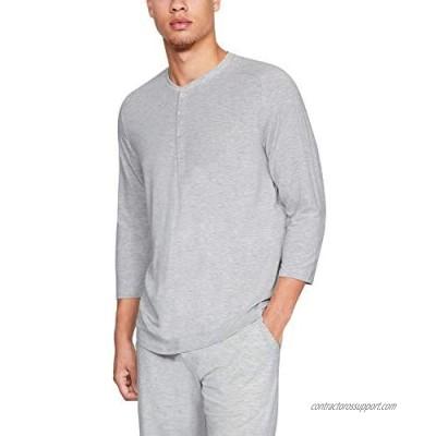 Under Armour Men's Recovery Sleepwear Elite 3/4 Henley