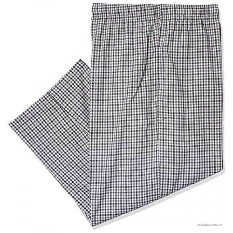 Fruit of the Loom Men's Woven Sleep Pajama Pant