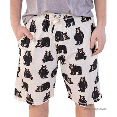Lazy One Pajama Shorts for Men  Men's Separate Bottoms  Cotton Loungewear