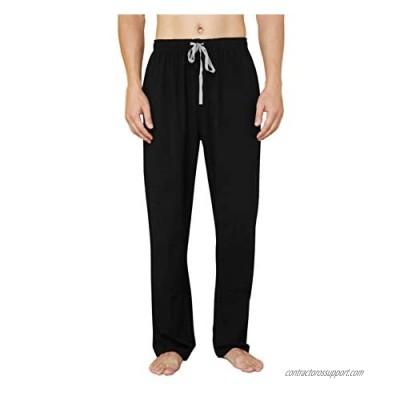 WORW Mens Pajama Pants  Soft Cotton Sleep Lounge Pants