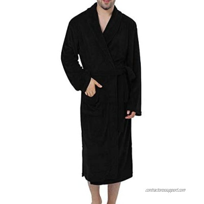 XING YE CHUAN Terry Cloth Robe for Men  Men's Bathrobe Towel Robe for Spa and Hotel