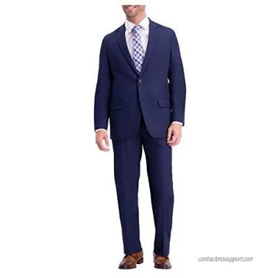 Haggar Men's Active Series Classic Fit Stretch Suit Separate Pant  blue blazer  40R