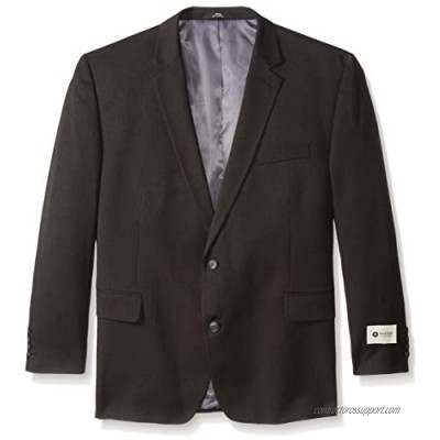 Haggar Men's Big and Tall Big & Tall Performance Heather Pinstripe Classic Fit Suit Separate Coat