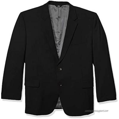 J.M. Haggar Men's Big & Tall B&t 4-Way Stretch Solid Gab Slim Fit Suit Separate Coat