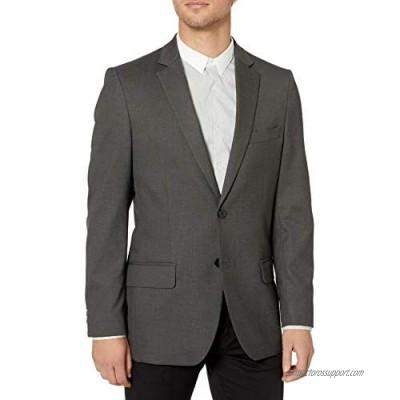 J.M. Haggar Men's Sharkskin Premium Tailored- Fit Stretch Suit Separate Coat