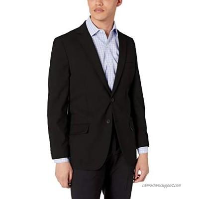 J.M. Haggar Men's Solid Gab 4-Way Stretch Slim Fit Suit Separate Coat