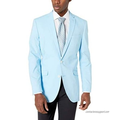 Kenneth Cole Unlisted Men's Chambray Blazer  Sky Blue  42R
