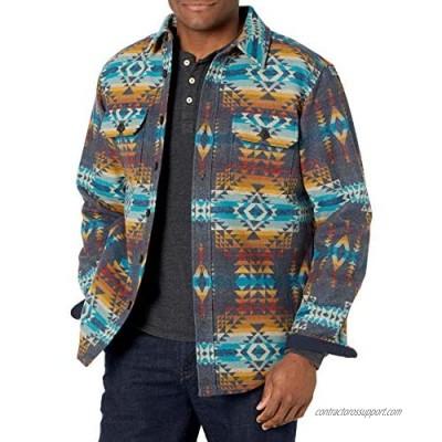 Pendleton mens Jacquard Cpo Wool Shirt Jacket