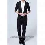 XueYin Men's Slim Fit Suits Casual Wear Blazer Jacket