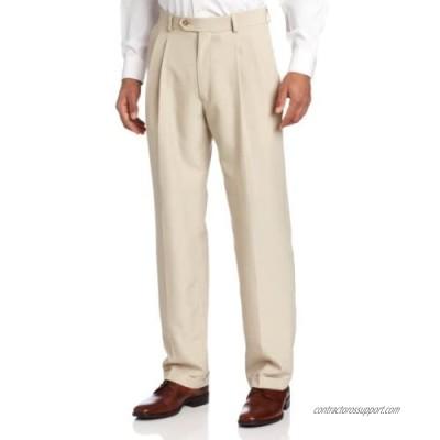 Haggar Men's Stria Pleat Front Suit Separate Pant