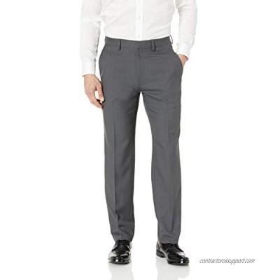 Haggar Men's Travel Performance Stria Tic Tailored Fit Suit Separate Pant