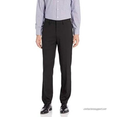 J.M. Haggar Men's Premium Stretch St.Slim Fit Plain Suit & Pant