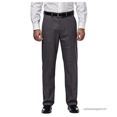 J.M. Haggar Men's Sharkskin Premium Classic-Fit Stretch Suit Separate Pant