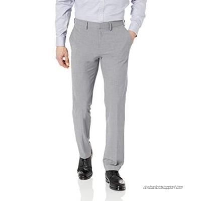 J.M. Haggar Men's Solid Gab 4-Way Stretch Slim Fit Suit Separate Pant