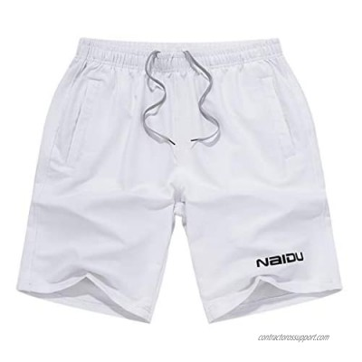 Large Size Men Summer Loose Pure Color Shorts Fashion Pants