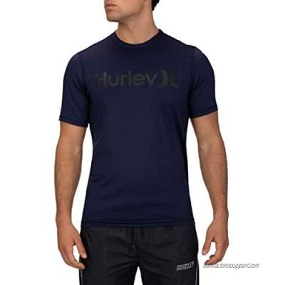 Hurley Men's One & Only Short Sleeve Sun Protection Rashguard Shirt