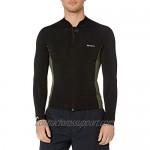 RVCA mens Front Zip Neoprene Wetsuit Jacket
