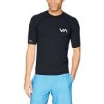 RVCA Men's Short Sleeve Rashguard