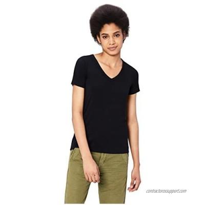 Brand - Daily Ritual Women's Jersey Short-Sleeve V-Neck T-Shirt