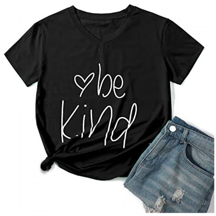 Hellopopgo T Shirts for Womens Summer Short Sleeve Tshirts Womens Tops Funny Shirts Inspirational