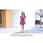 BELAROI Womens Comfy Swing Tunic Short Sleeve Solid T-Shirt Dress
